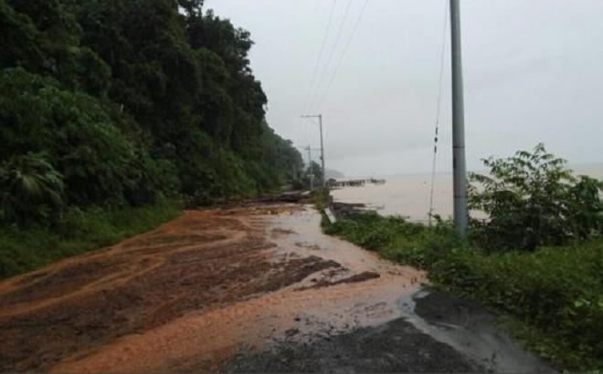 Más de 3.000 serían los damnificados en Bahía Solano, el 80% de la población se inundó. No hay lugares de albergues