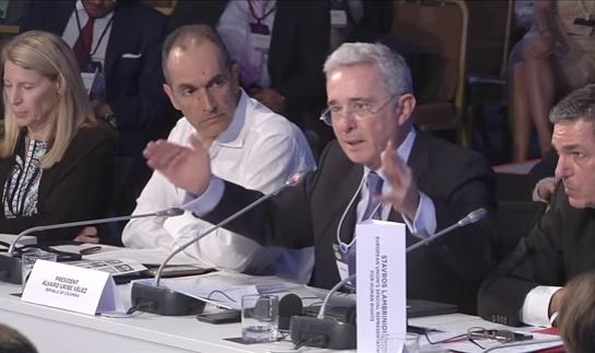 Las cifras reales de Uribe en Concordia Summit que desenmascararon al Gobierno Santos e indignaron a sus aúlicos