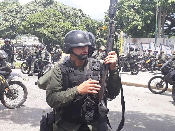 40 hombres de la Guardia del régimen de Maduro violaron el territorio de Colombia en la frontera con Cúcuta.
