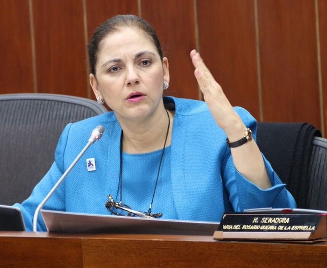 Senadora María del Rosario Guerra será panelista en el Seminario Internacional, Cuidados Paliativos y Sociales vs Eutanasia