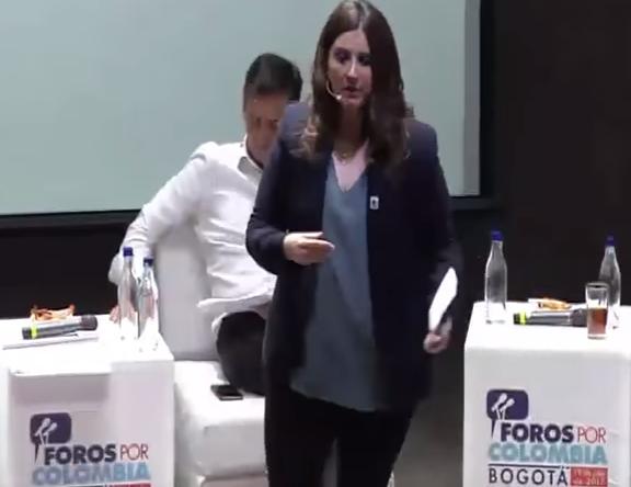 La salud debe ser sagrada y sus recursos destinados únicamente al servicio del pueblo: Paloma Valencia