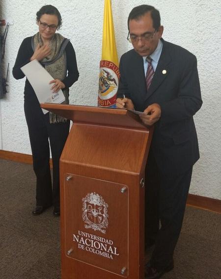 José Consuegra Bolívar, se posesionó como representante de universidades privadas ante el CESU