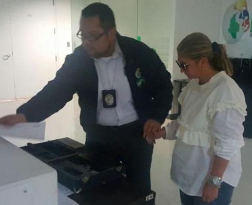 Con orden de captura vigente, se entregó a la justicia, Basina Elías, prima de Bernardo Ñoño Elías, por el caso Odebrecht