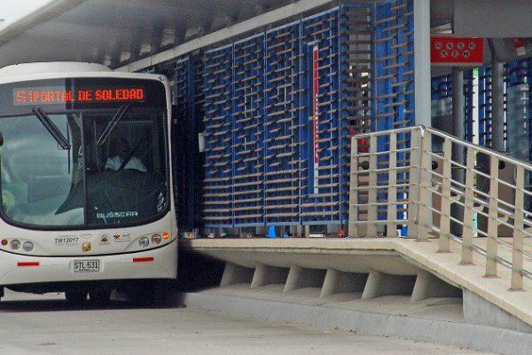Considerable reducción de infractores a carril de Solo Bus revela fiscalización electrónica en Soledad