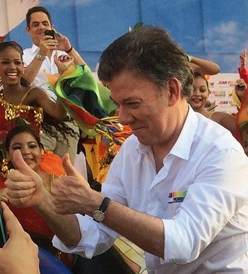 Magistrada del CNE, encontró méritos para abrir investigación formal a Santos por coima Odebrecht en su campaña 2014