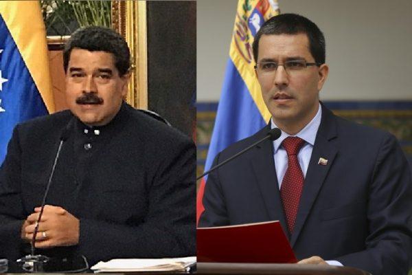 Santos vergüenza histórica del Caín de América, terminará tras las rejas, calificativo de Arreaza y advertencia de Maduro