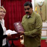 Maduro denunció este domingo corrupción de la Fiscal Luisa Ortega y su esposo el diputado Germán Ferrer