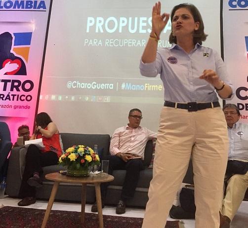 María del Rosario Guerra presentó tres propuestas para impulsar el emprendimiento en Colombia