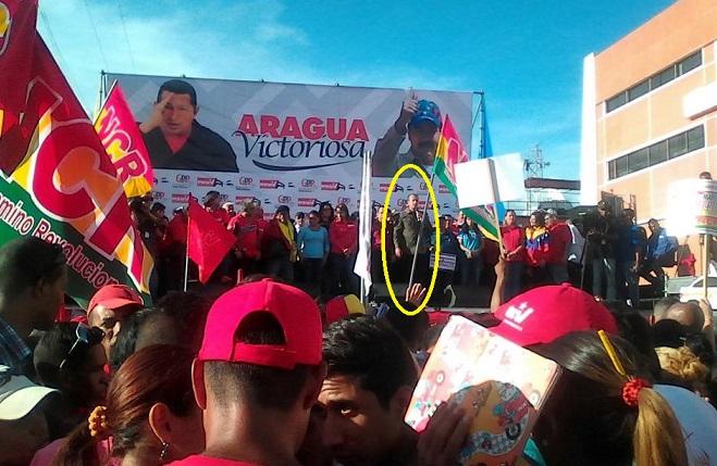 Cumbre de narcosocios: Tareck El Aissami, enrostra a Santos pésimos resultados en narcocultivos. Paga su ira con Pence
