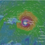 Huracán María llega con categoría 4 y azota a la isla de Puerto Rico