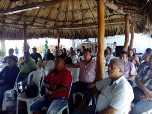 Transportadores del Servicio Especial, Asociaciones, Empresarios, Propietarios protestan en Barranquilla