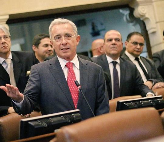 A la luz de la Constitución, la conciliación de las 16 circunscripciones fue negada: Uribe