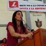 Consulta Liberal, discrimina a la mujer, es ilegal y obscena, dilapida $40 mil millones: Sofía Gaviria invita a No Votar