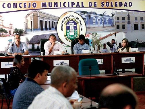 Procuraduría abrió pliego de cargos contra concejales de Soledad, Atlántico