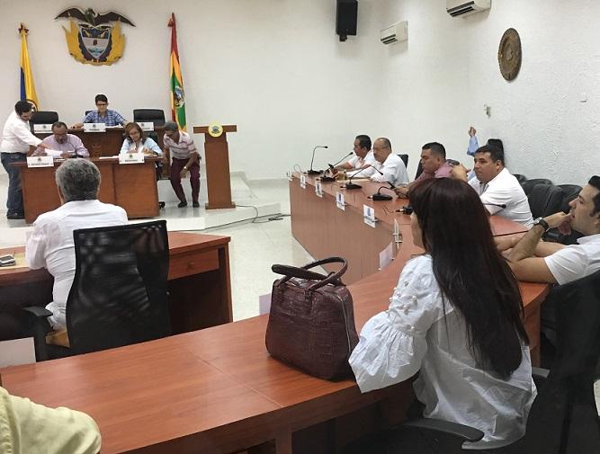 Concejo de Barranquilla, en sesión extraordinaria acepta la renuncia del concejal Carlos Meisel quien aspira al Senado