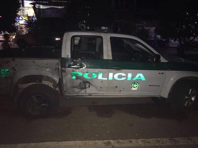 En alerta máxima Cuerpos Policiales luego de múltiples atentados este fin de semana. En estado critico un coronel de la Policía y su conductor