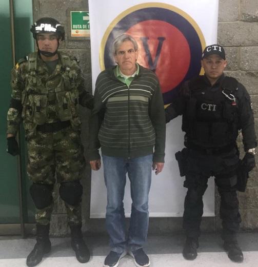 Capturado en Bogotá presunto cabecilla del ELN acusado de los atentados contra la Policía en en el CAI san José, en Barranquilla, en el municipio de Soledad y sur de Bolívar