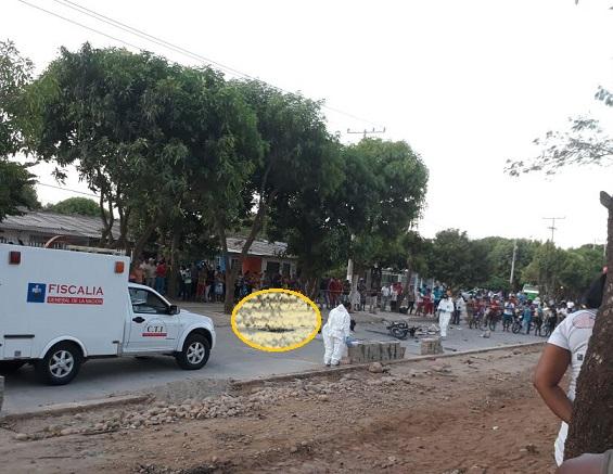 En Valledupar muere hombre al explotar los explosivos que él mismo llevaba en la moto