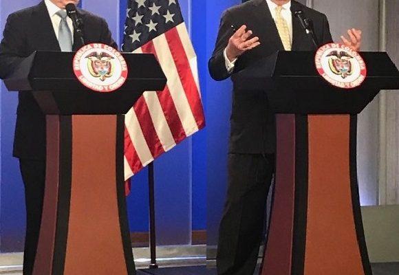 Rex Tillerson dio respuestas contundentes a preguntas capciosas en Colombia