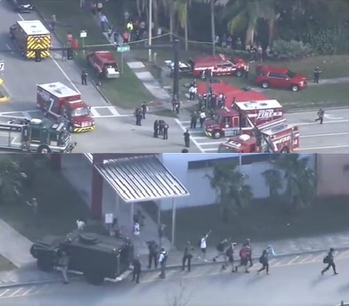 Tiroteo en escuela secundaria de la Florida, deja varios heridos y varias personas fallecidas