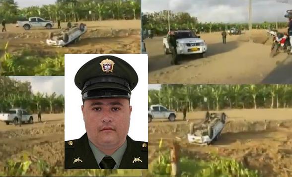 En Urabá, Antioquia en atentado contra una patrulla, asesinan a un Policía y dejan tres más heridos