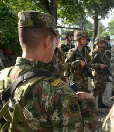 En atentado terrorista contra la base militar de Convención, Norte de Santander asesinado un soldado y 4 más heridos