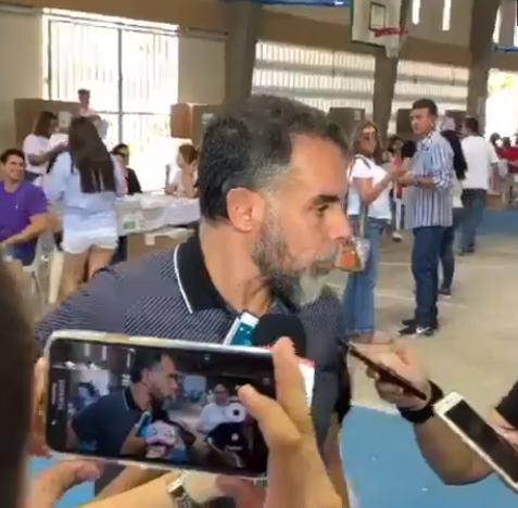 Senador Armando Benedetti, acusado de haber interceptado ilegalmente al Fiscal General de la Nación y a su esposa, y a los abogados Lombana, Granados y Cancino