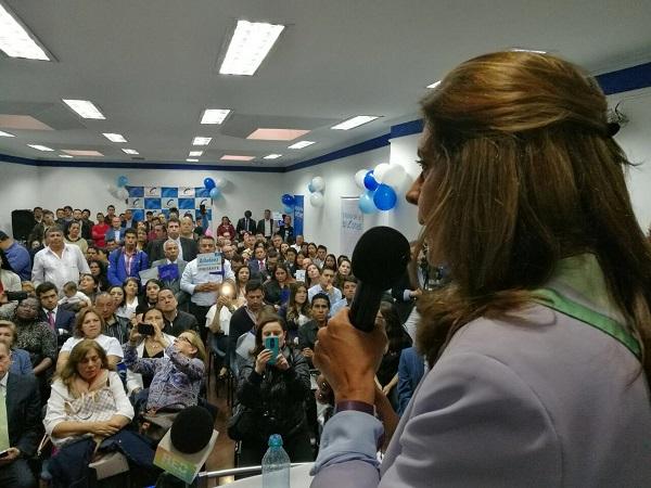 Marta Lucía llama al Partido Conservador a unirse a su campaña y votar por ella en La Gran Consulta