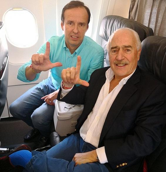 Honrados de ser deportados por la dictadura castrista; Ex Presidentes Pastrana de Colombia y Quiroga de Bolivia