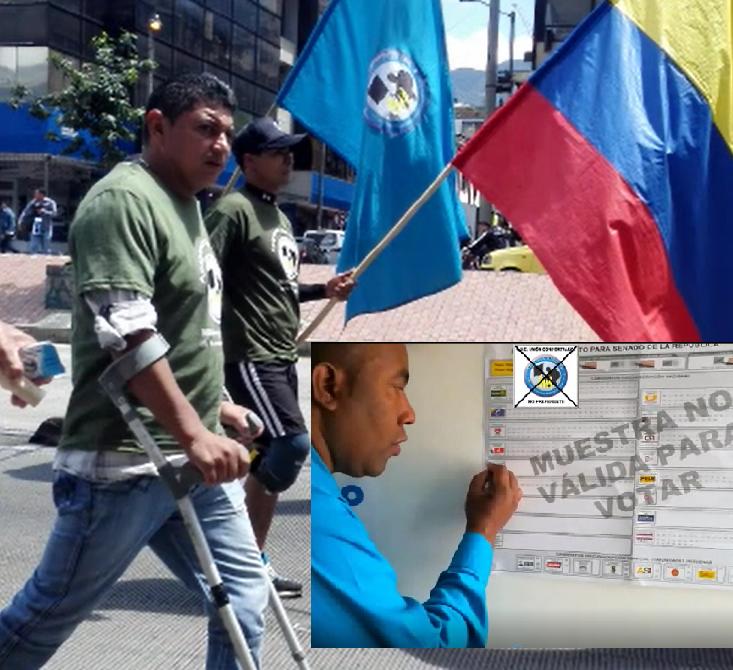 Contamos Contigo Colombia, a nosotros nos duele la Patria: Votar por los que dieron su fuerza y juventud en defensa del Pueblo Colombiano: Partido Unión Con Fortaleza