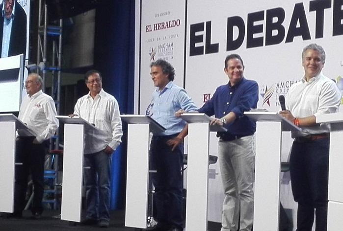 Debate Caribe: Un debate que dejó ver la armonía entre los candidatos a pesar de las diferencias