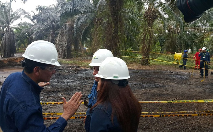 Procuraduría interpone ante el Tribunal acción de grupo para que Ecopetrol indemnice a las víctimas del derrame de petróleo del pozo La Lisama