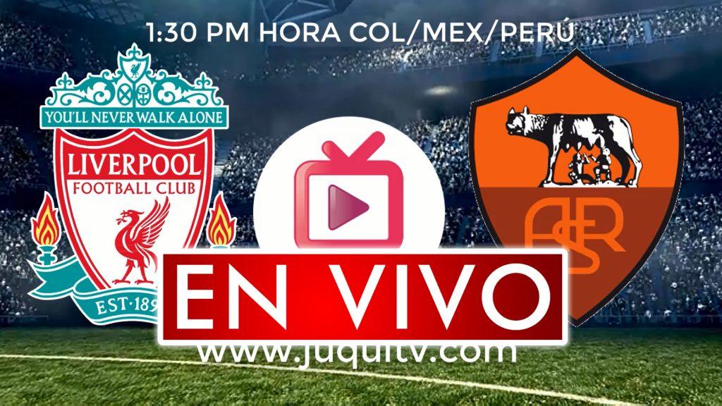 Liverpool vs Roma En Vivo Online Semifinal Champions League Partido Ida 1:30 hora Mex