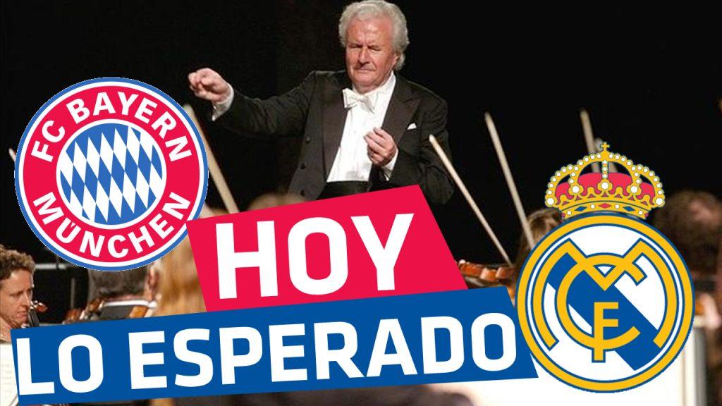Bayern Munich vs Real Madrid En Vivo Online Semifinal ida Champions League