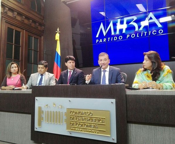 MIRA radicó acompañado de la firma de 56 senadores proyecto de Ley Estatutaria de Reforma Electoral