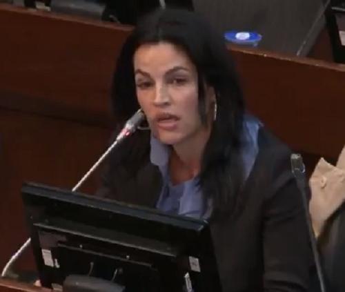 La curul de Jesús Santrich la pierde las Farc: debe ser entregada a las víctimas, no aplicar la silla vacía, afirma Sofía Gaviria