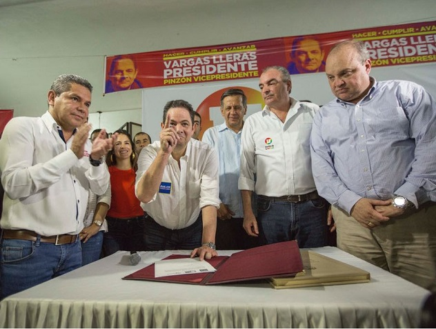 Partido de la U oficializó su apoyo a Germán Vargas Lleras, luego de un Acuerdo Programático en el que avanzarán
