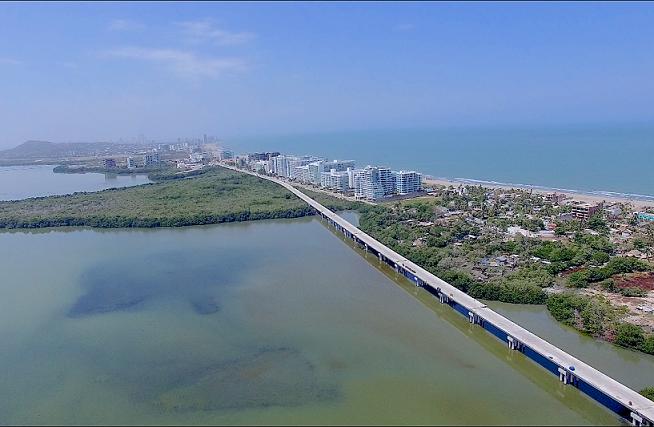La mayor obra de ingeniería de Colombia avanza con unión de Viaducto entre Cartagena y Barranquilla