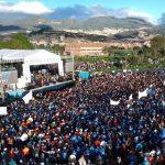 Duque cerró actos en plaza pública este domingo en El Tunal y según dijo, gobernará sin retrovisor