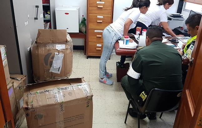 En el Cesar, Policía Nacional Policía Nacional deja medicamentos incautados  a disposición de la Secretaría de Salud Departamental incauta medicamentos, quedando a disposición de la Secretaría de Salud Departamental
