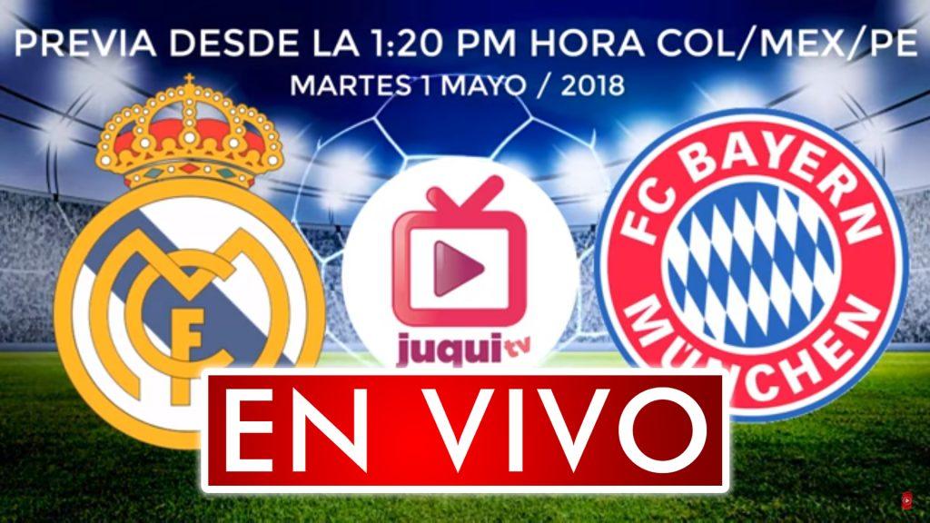 Real Madrid vs Bayern Munich En Vivo Online semifinal Champions League