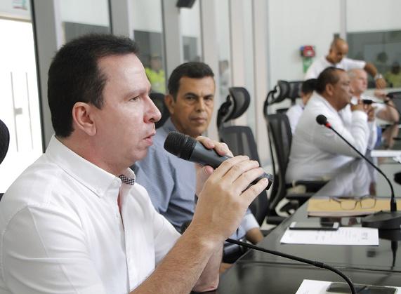 Diputado Federico Ucrós denunció vías en mal estado en el área metropolitana de Barranquilla de cara a los Juegos Centroamericanos y del Caribe