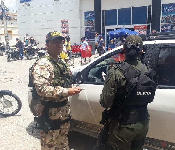 Gaula Militar y de Policía priorizan sectores y orientan para prevenir la extorsión y el secuestro, llaman a denunciar desde Sabanalarga, Atlántico