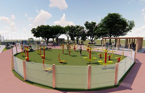 Socializan construcción del parque Bellavista, en Malambo