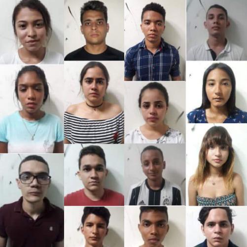 Autoridades capturan a 16 miembros de la banda de los intelectuales por suplantación concierto para delinquir y falsedad en documento público agravado