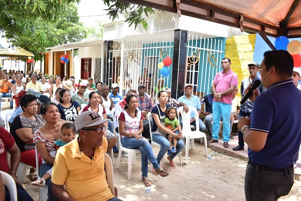 En Malambo socializan alcantarillado para el barrio Colombia y pavimento de vías urbanas por $946 millones
