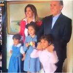 Los primeros momentos del nuevo Presidente de Colombia, con su familia y con la Vicepresidente Martha Lucía Ramírez