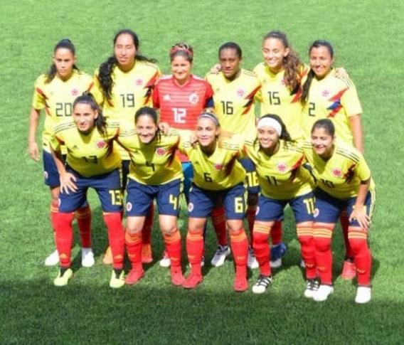 Costa Rica venció a Colombia en el fútbol femenino