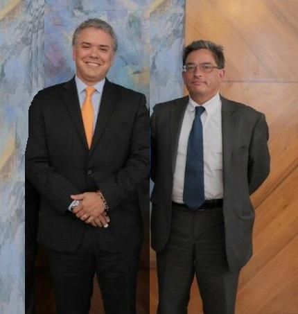 Alberto Carrasquilla designado ministro de Hacienda, del gobierno del presidente electo Iván Duque