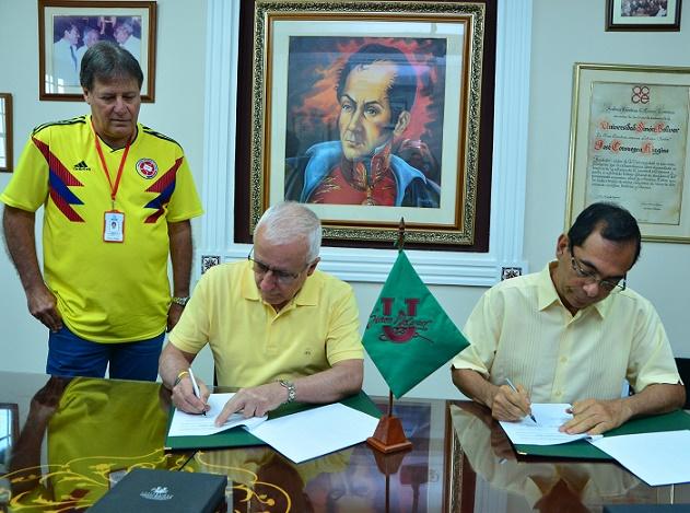 Universidad Simón Bolívar y el Comité Olímpico Colombiano firman convenio de apoyo a Juegos Centroamericanos y del Caribe Barranquilla 2018